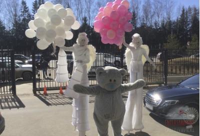 Ходулисты на детский праздник