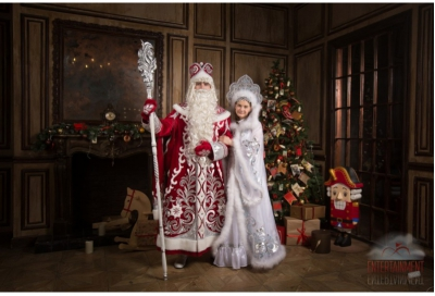 Аниматоры Дед Мороз и Снегурочка