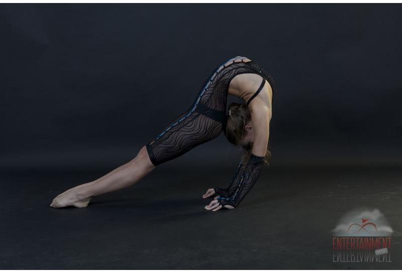 Цирковой номер - Акробатический каучук
