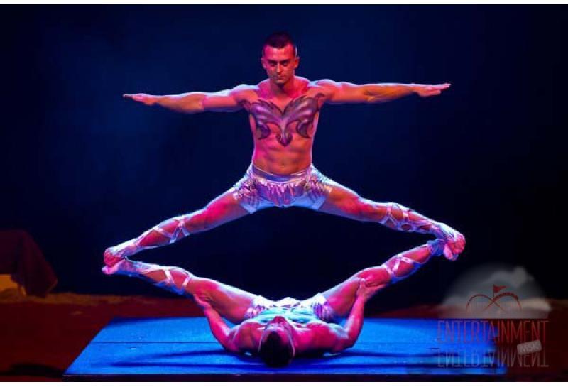 Цирковой номер - Акробатическое адажио