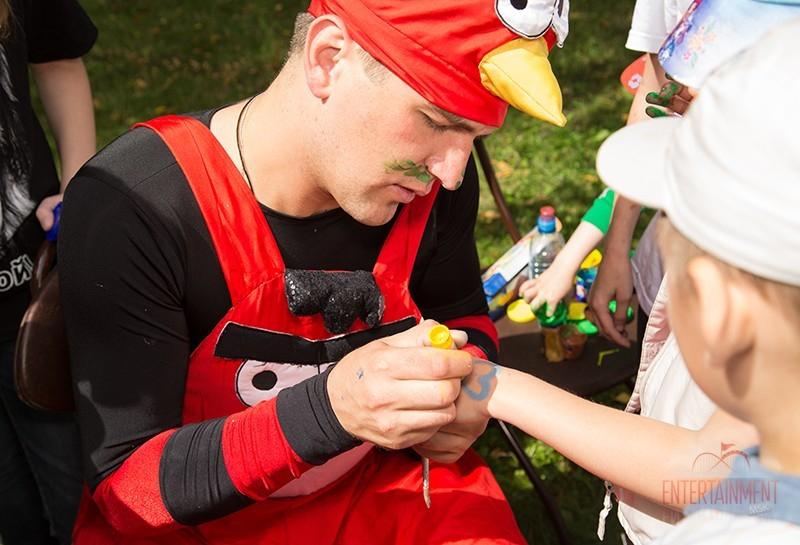 Аниматоры Angry Birds