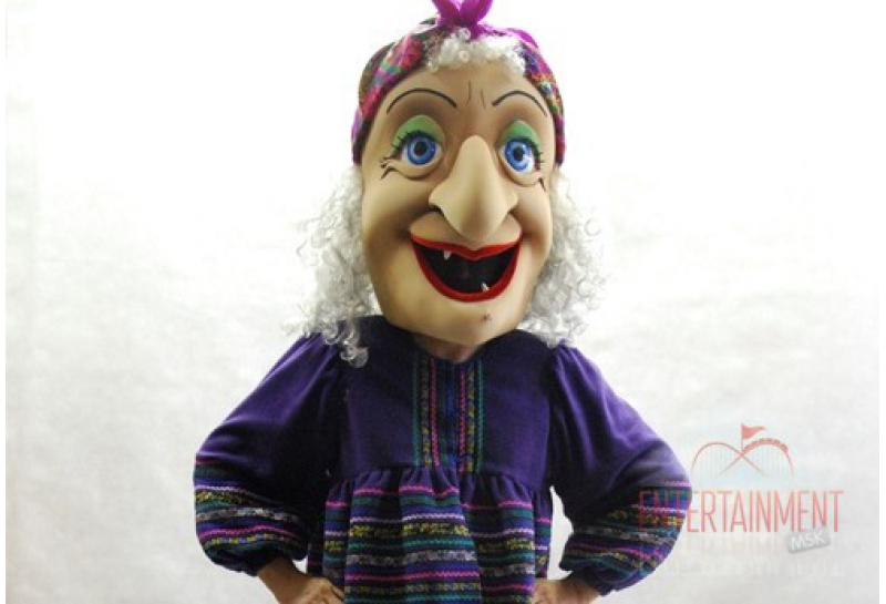 Ротовая кукла баба Яга