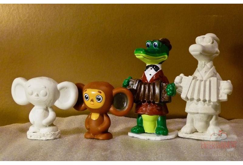 Роспись гипсовых игрушек