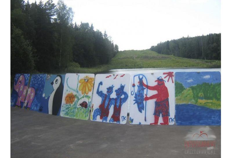 аттракцион граффити