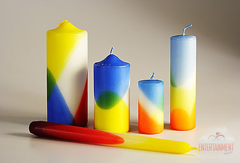 мастер класс изготовление свечей