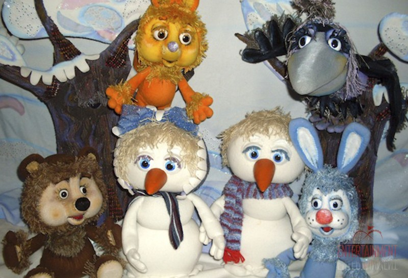"""Кукольный спектакль """"Солнышко и снежные человечки"""""""