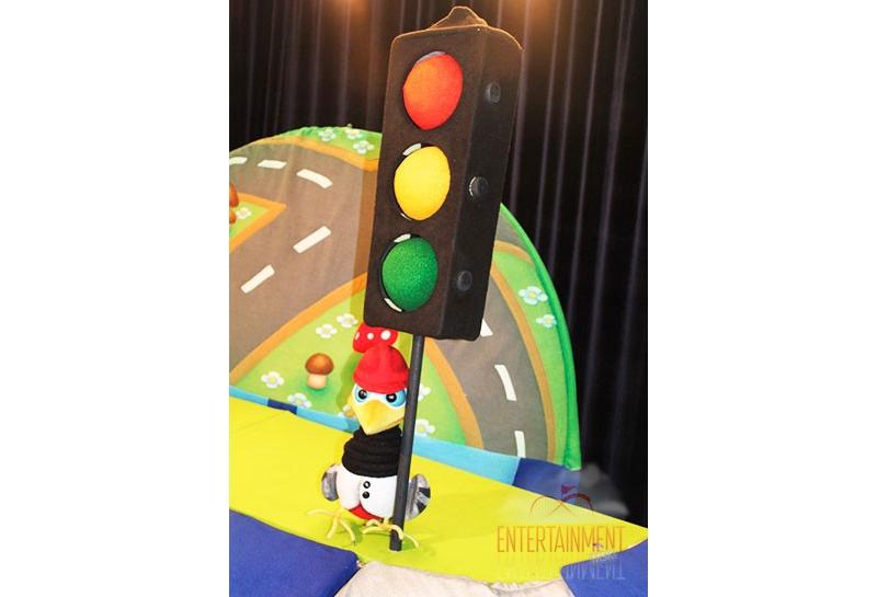 """Кукольный спектакль """"Правила дорожного движения"""""""