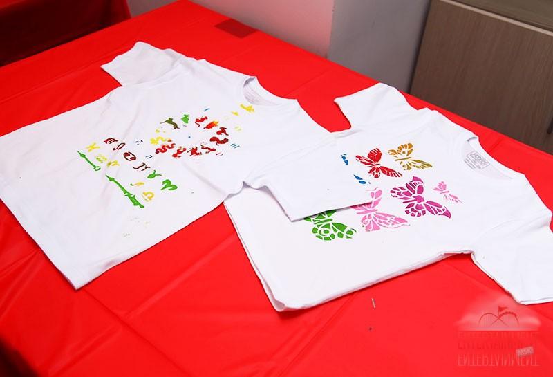 мастер класс роспись футболок
