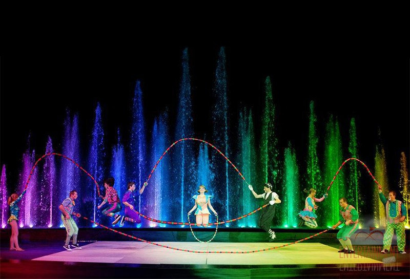 Новогодние цирковые номера