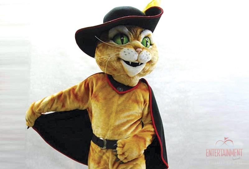 Ростовая кукла кот в сапогах