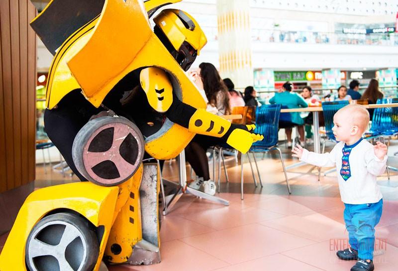 шоу роботов для детей