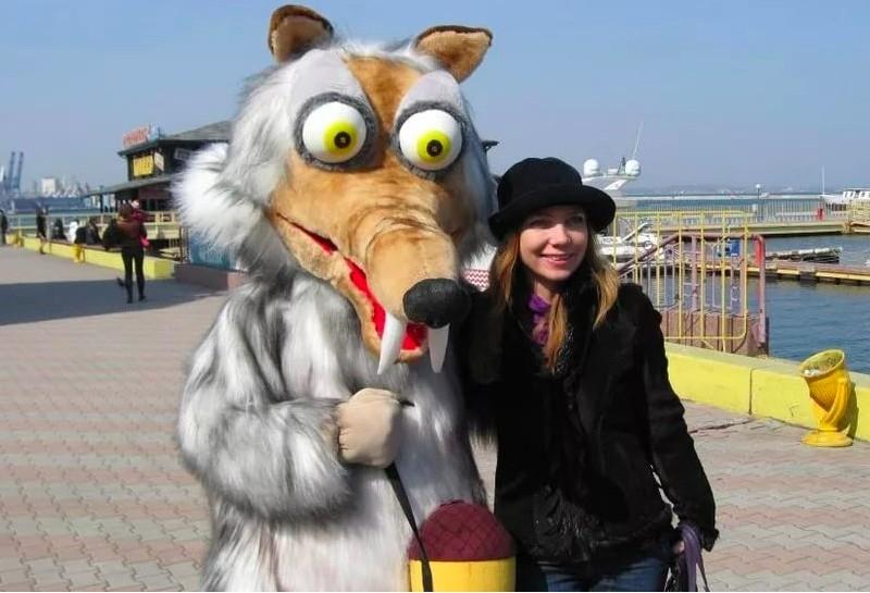 Ростовая кукла Белка Скэт