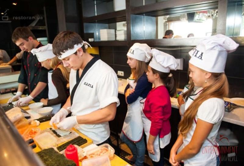 Мастер класс по приготовлению суши