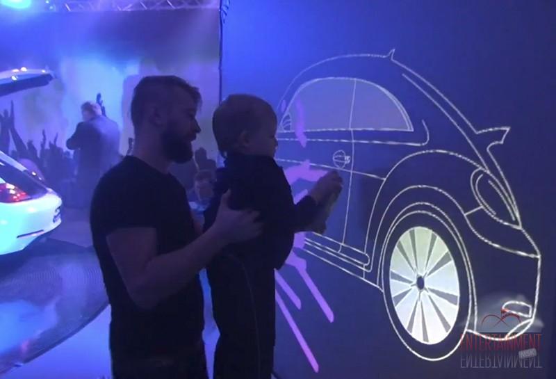 "Аттракцион - ""Виртуальное граффити"""