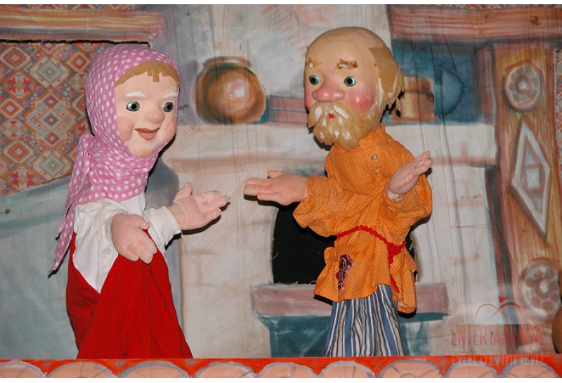 """Кукольный театр """"Заколдованная уточка"""""""