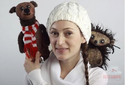 """Кукольный спектакль """"Как Ежик и Медвежонок встречали Новый год"""""""