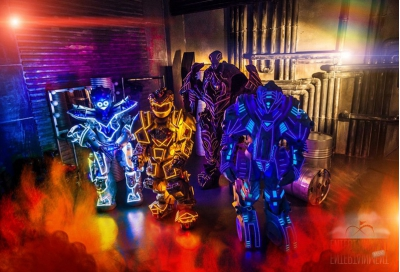 Роботы на встречу гостей