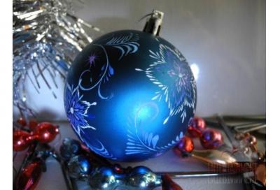 Роспись Новогодних игрушек