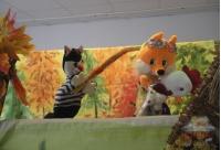 """Кукольный спектакль """"Кот, лиса и петух"""""""