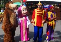 Ростовые куклы Маша и Медведь