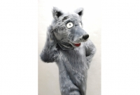 Ростовая кукла волк в аренду
