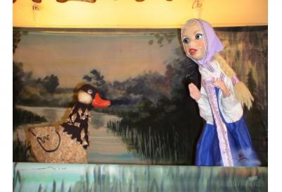 """Кукольный театр """"Волшебный цветок"""""""